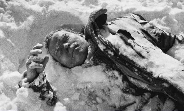 Тело Игоря Дятлова