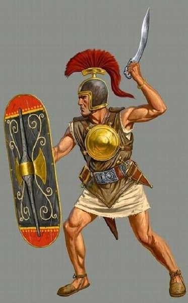 Вооружение и экипировка наёмников-иберов служивших в войске карфагенского полководца Ганнибала