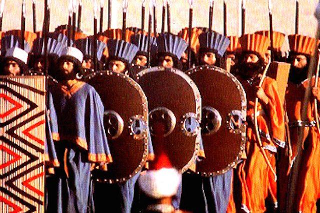 Самая страшная и бессмертная армия Персии!