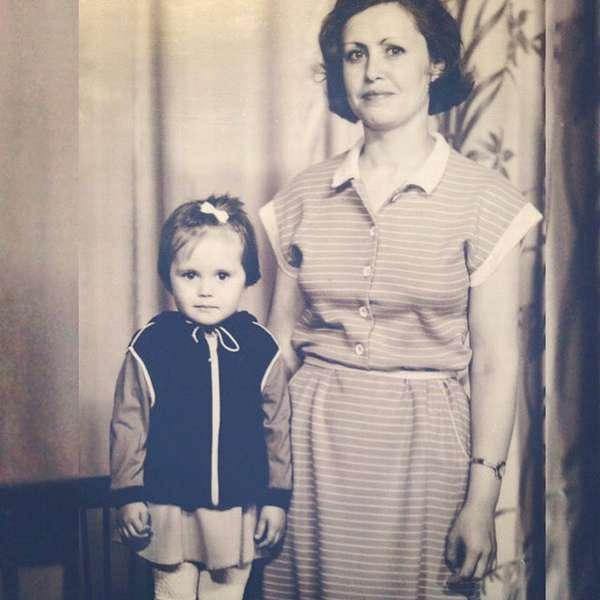 юлия михалкова в детстве