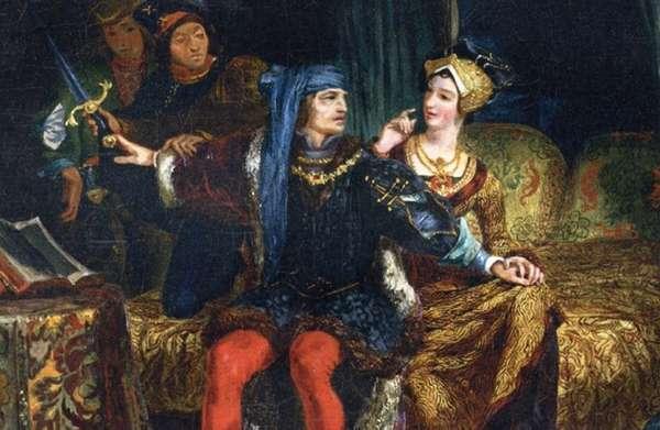 Карл VI узнаёт о убитых им рыцарях