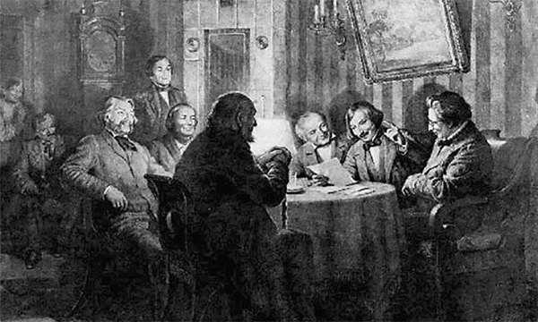 Гоголь умел расположить к себе кампанию и легко находил друзей