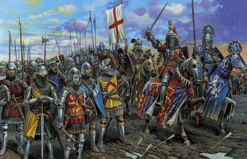 Столетняя война, на самом деле, длилась 113 лет