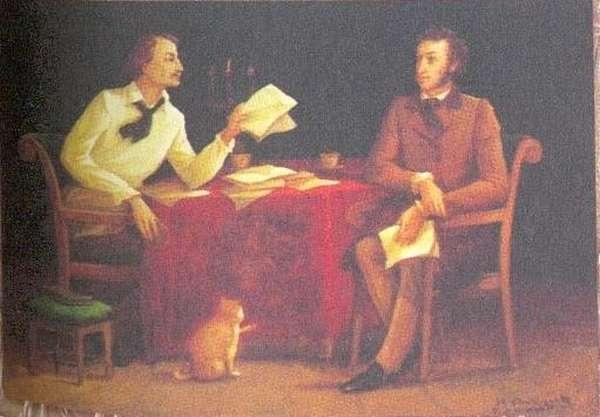 Гоголь был знаком с Пушкиным и очень этим гордился