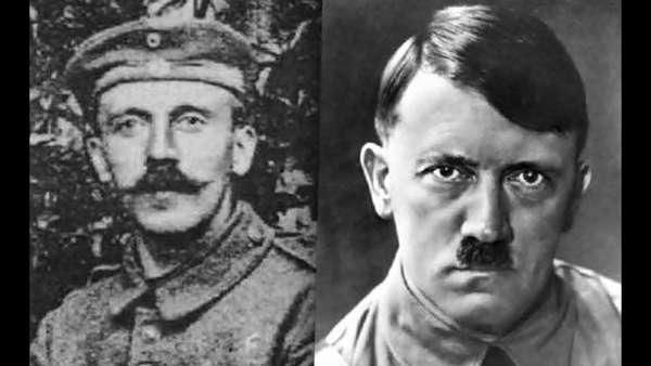 Гитлер в Первую Мировую Войну Гитлер в Первую Мировую Войну