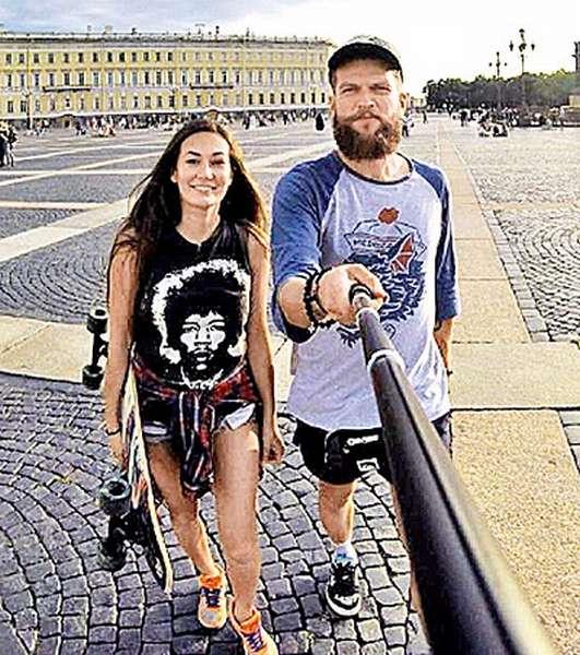Кирилл Нагиев со своей девушкой