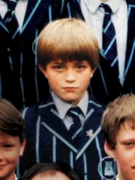 Роберт Паттинсон в детстве фото