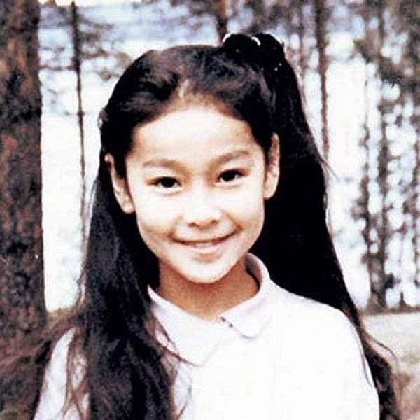 Марина Ким в детстве