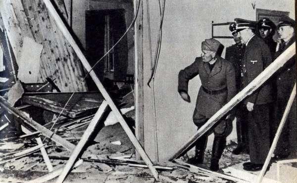 Место покушения на Гитлера 20 июля 1944 года