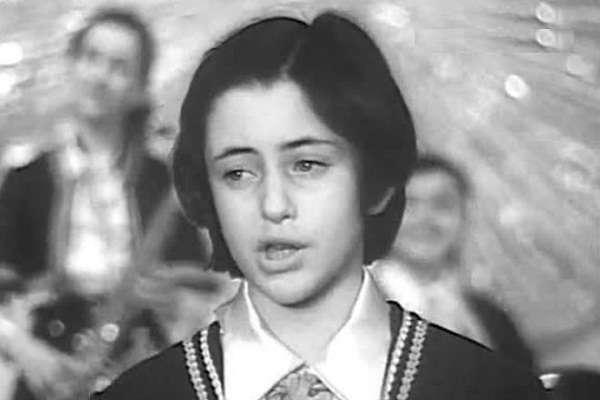Тамара Гвердцители в детстве