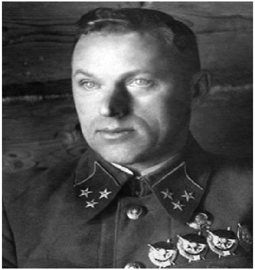 К.К. Рокоссовский в 1941 году