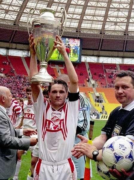 Dmitry Alenichev с Кубком фото