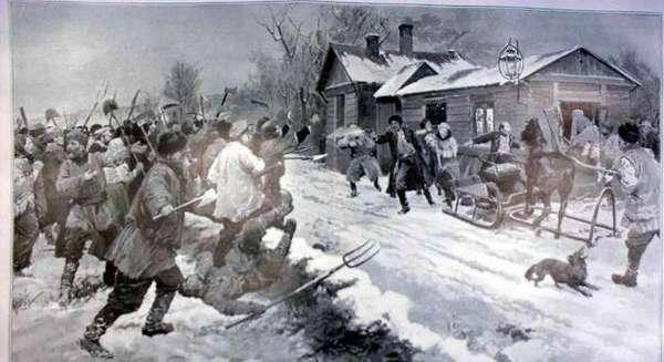 Восстание в Саратовской губернии