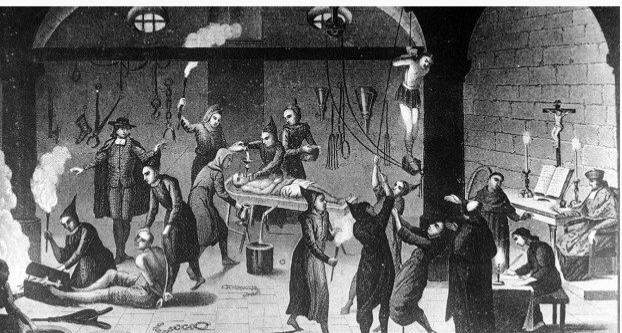 Жертвы испанской инквизиции