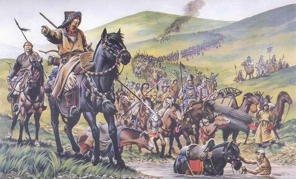 Вторжение татаро-монголов в Европу