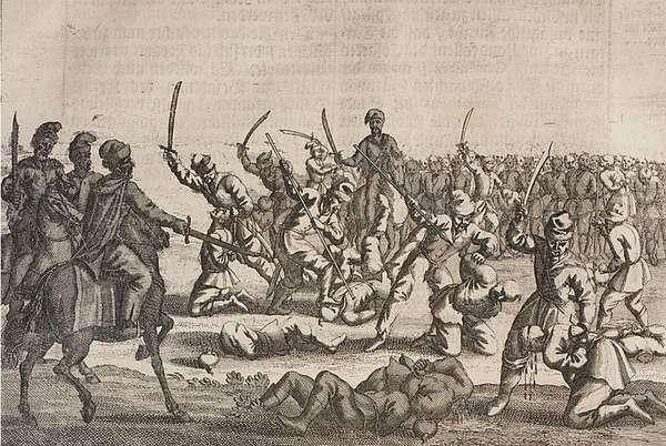 Резня пленников под Батогом