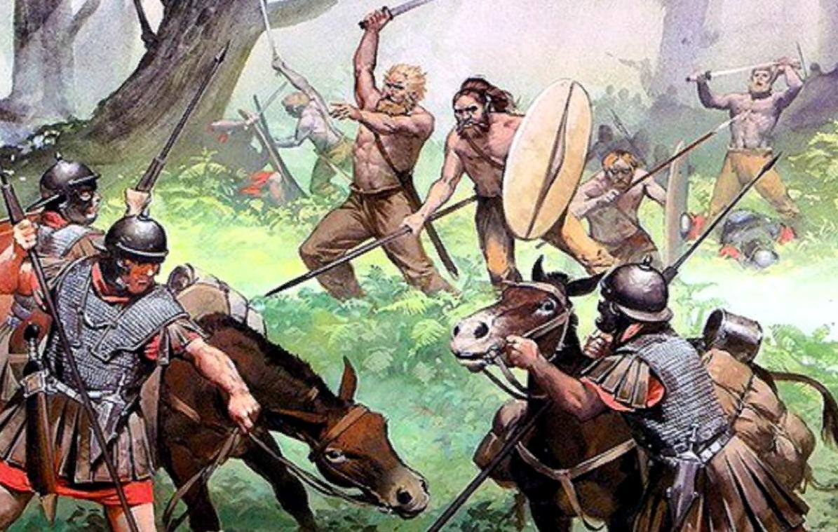 битва херусков с римлянами