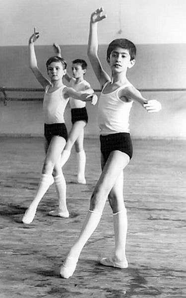 Николай Цискаридзе в школе балета фото