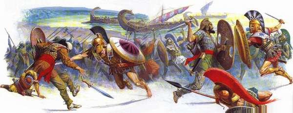 Греки против персов. История масштабных сражений