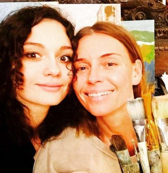 Любовь Толкалина с дочерью фото