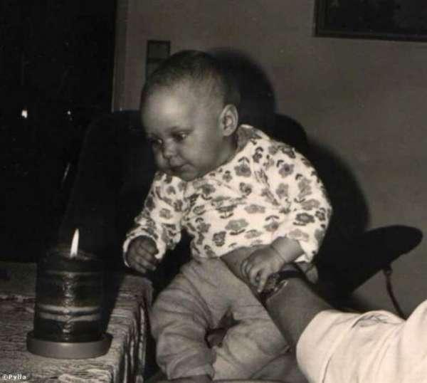 Вилле Вало в детстве