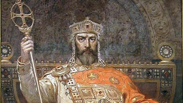 Портрет царя Симеона Великого, худ. Диммитр Гюдженов