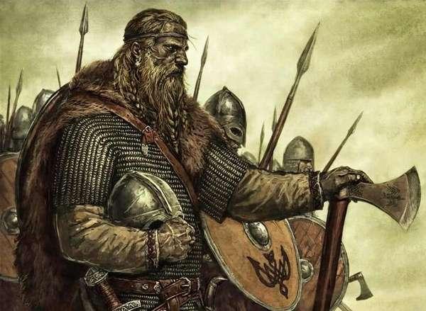 Скандинавский вождь племени или конунг