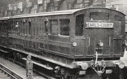 Экспериментальный Электропоезд Лондон.