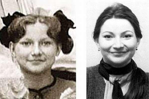 Елена Степаненко в детстве и молодости фото
