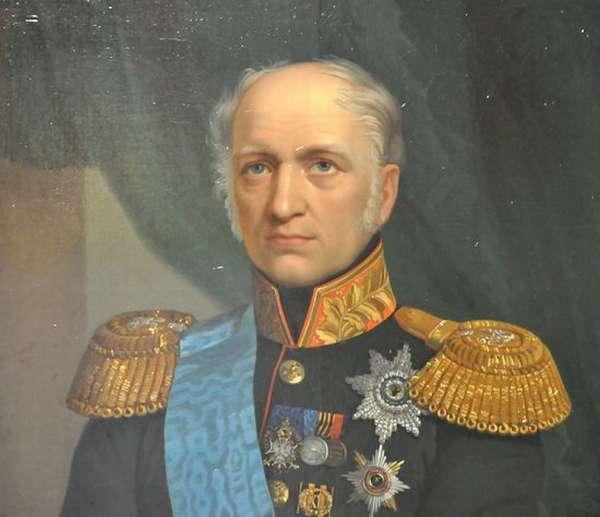 Министр финансов Егор Федорович Канкрин