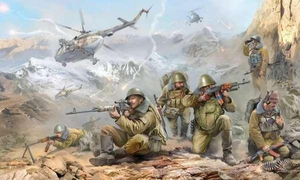Реальные события Афганской войны