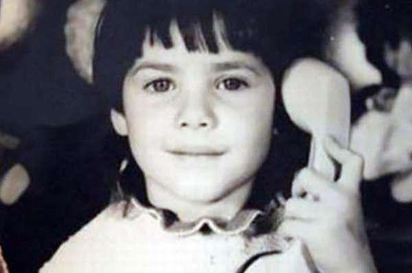 Юлия Снигирь в детстве