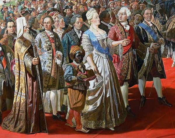 Екатерина II. Эпоха просвященного абсолютизма. Внутренняя политика.