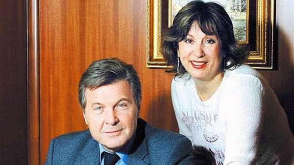 Лев Лещенко с женой Ириной Багудиной фото