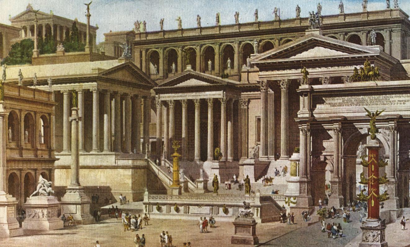 Рим захватил провинцию Германия