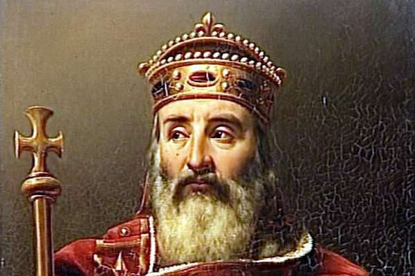 Король франков и император Запада Карл Великий