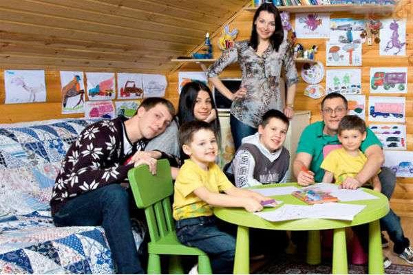 Наталья Антонова: многодетная мама и успешная актриса