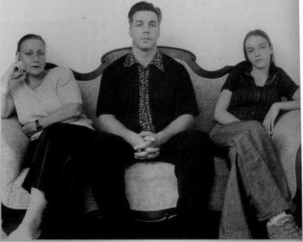 Тилль Линдеманн с семьей: мамой и дочерью фото