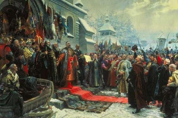 Гетман войска казачьего Богдан Хмельницкий