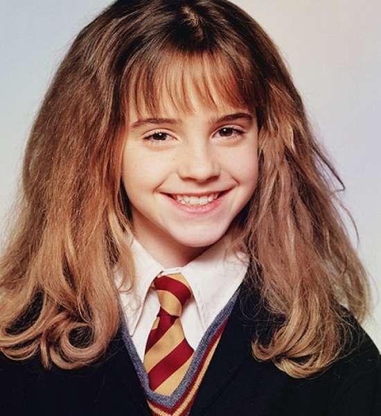 Эмма Уотсон в детстве фото