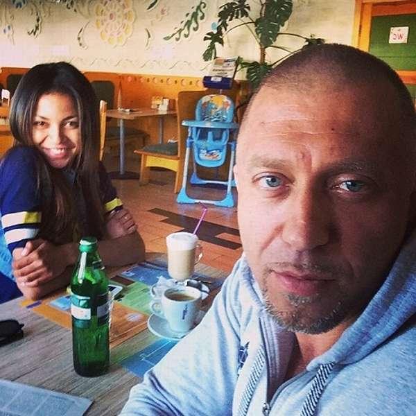 Рэпер Серега с с бывшей женой Полиной.