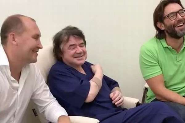 Евгений Осин идёт на поправку