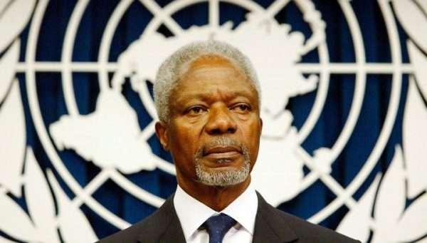 Умер экс-Генсек ООН Кофи Аннан