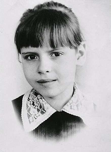 Любовь Толкалина в детские годы фото