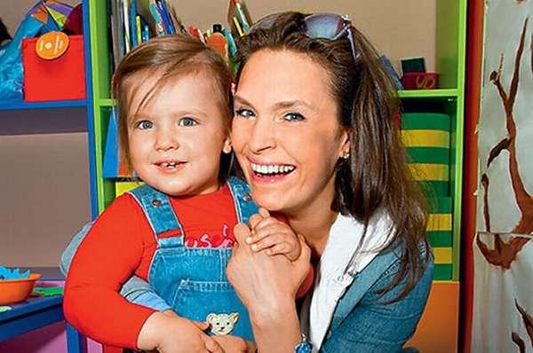 Марина Могилевская с дочкой фото