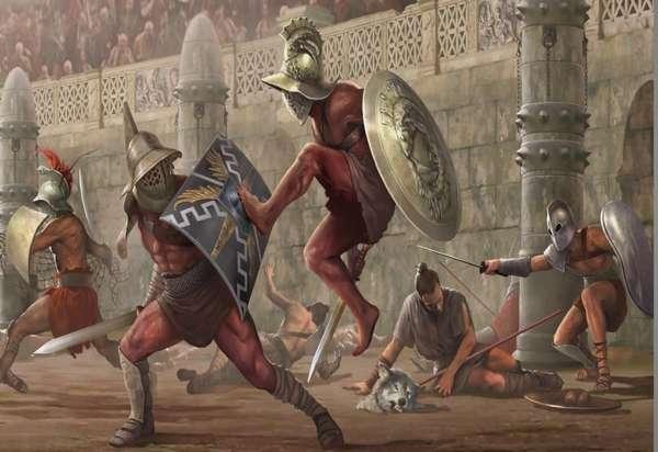 Рабы-гладиаторы
