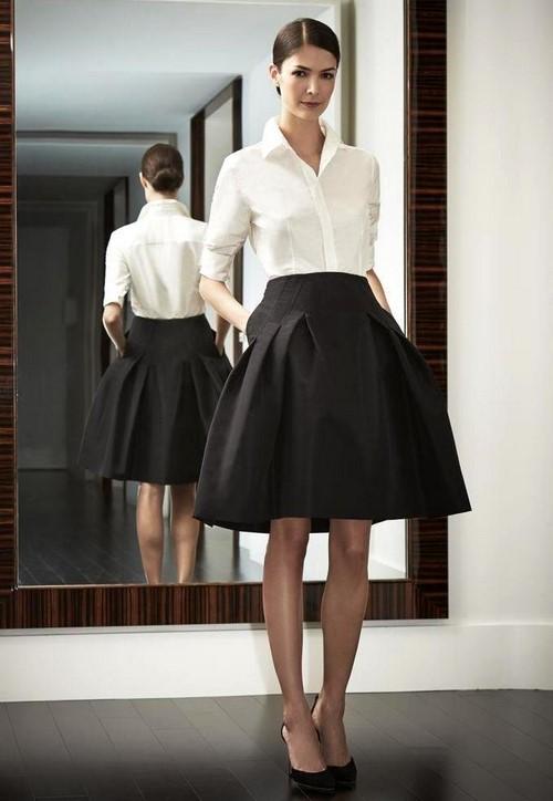 73b7a8a1fff Модные юбки колокол короткие