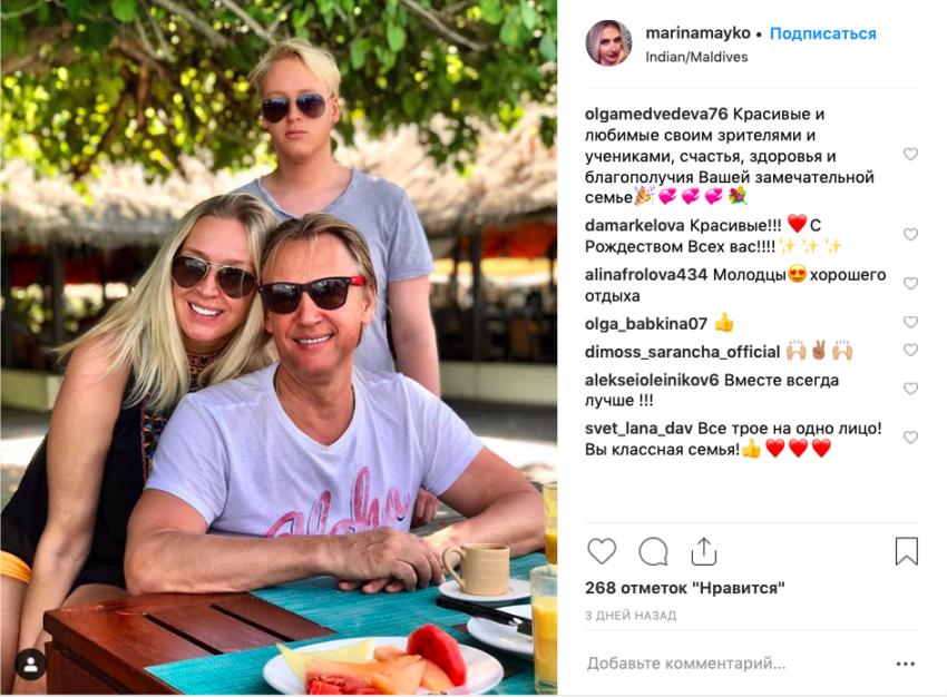 Трое из ларца — одинаковы с лица. Поклонники удивлены насколько члены семьи Дмитрия Харатьяна похожи друг на друга