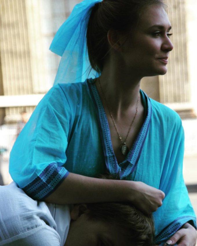 Мария Машкова показала, как выглядела в день бракосочетания 10 лет назад в нетрадиционном для такого торжества наряде