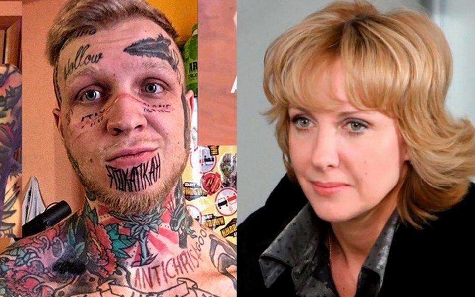 «Подарки опоздали»: Елена Яковлева объяснила, почему сын превратил себя в сплошную татуировку